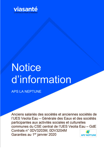 Notice - APS LA NEPTUNE - Anciens salariés 2020